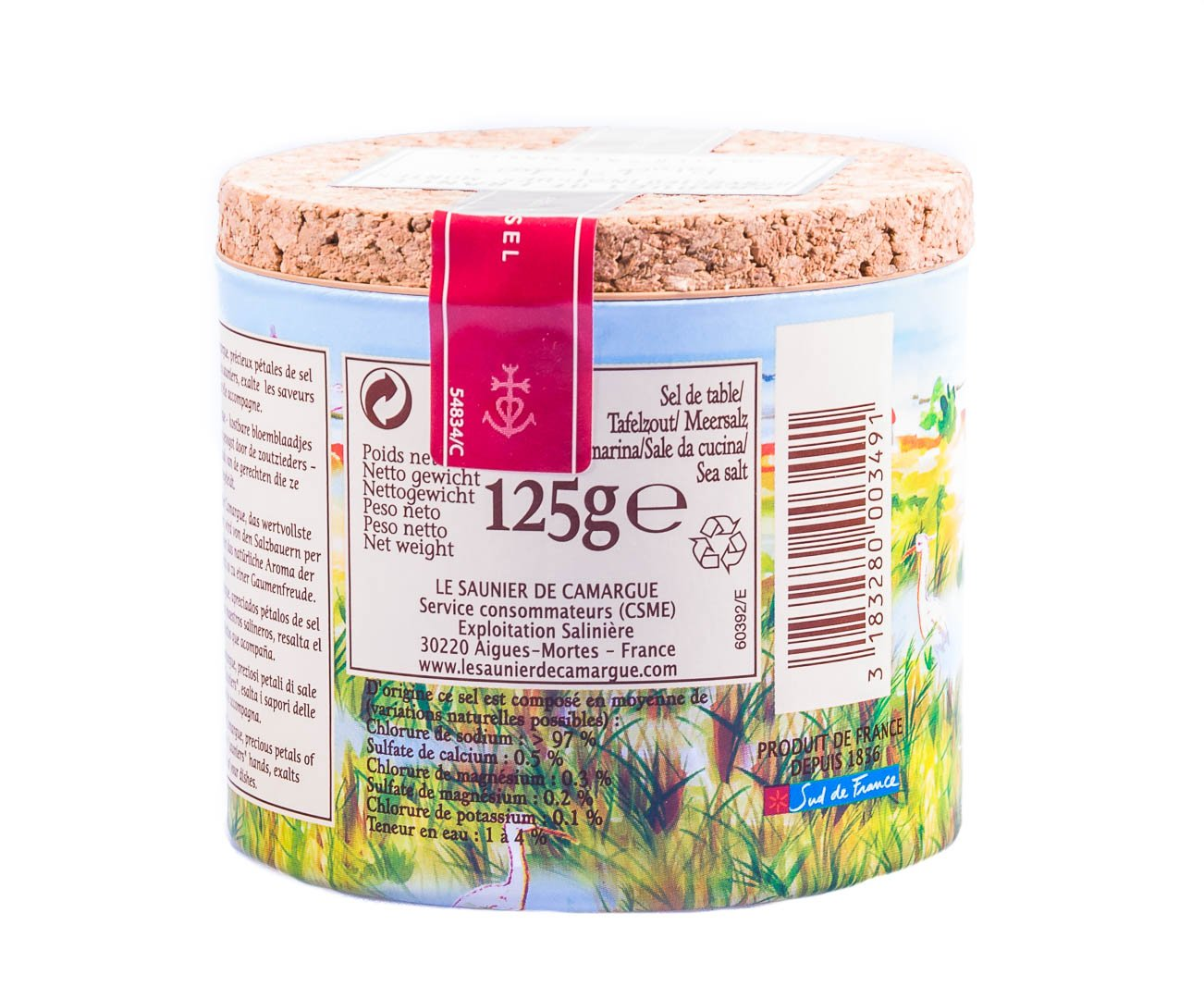 Le Saunier De Camargue Fleur De Sel From France 125 Grams Amazon