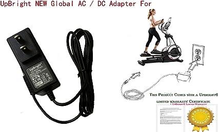 6V AC//DC Adapter For ProForm Smart Strider 495 CSE Ellipticals Endurance 520 E
