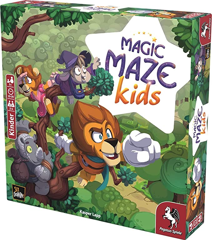 Pegasus Spiele 57202G Magic Maze Kids - Juego de Mesa: Amazon.es: Juguetes y juegos