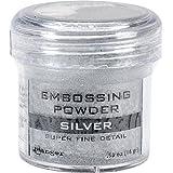 Silver Super Fine Embossing Powder 1oz Jar