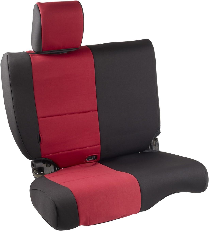 Smittybilt 47030 Neoprene Red Front Seat Cover