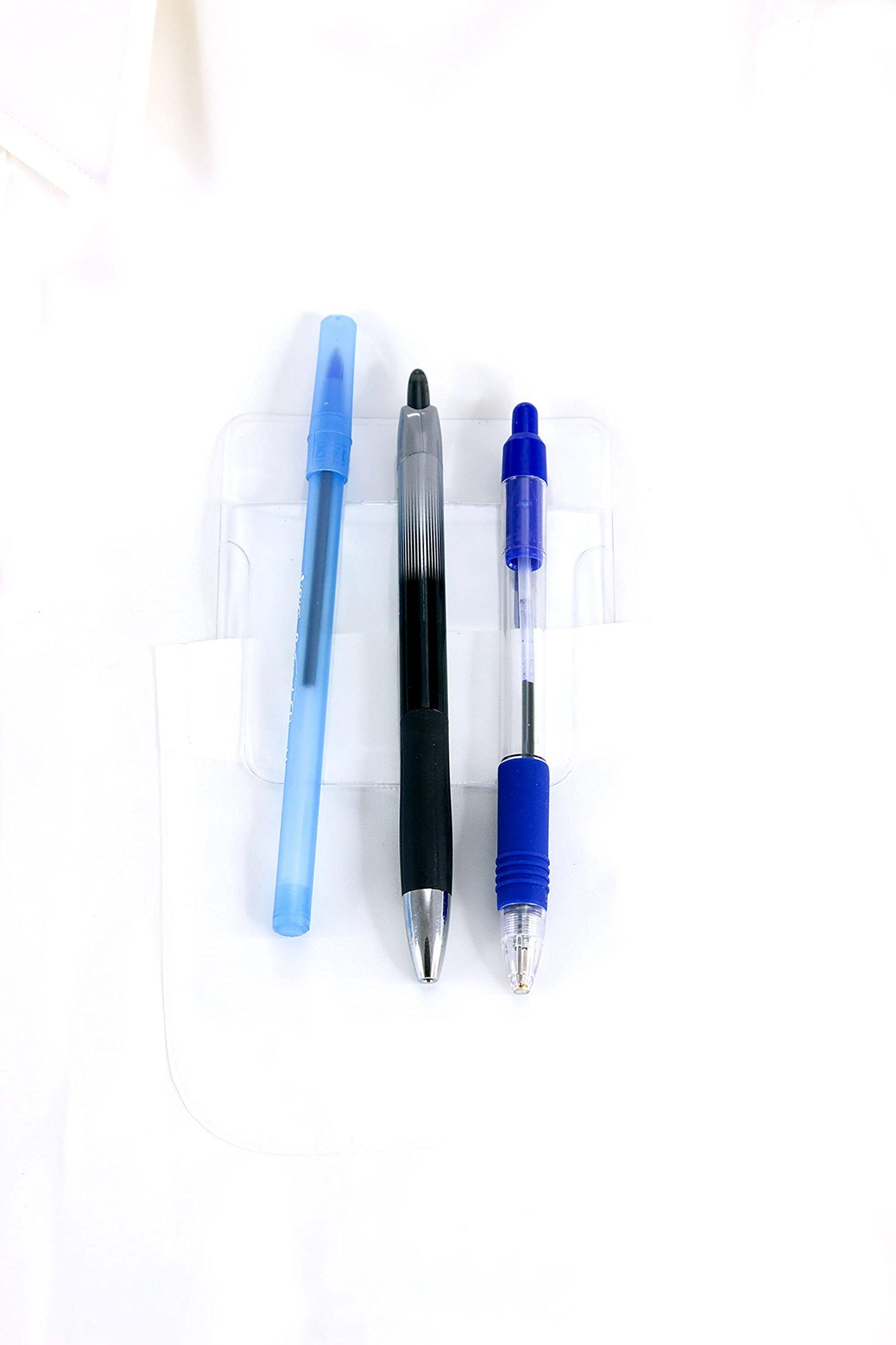 Baumgartens Pocket Protectors Clear (Pack of 48) (46502) by Baumgartens (Image #2)
