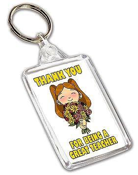 Regalo de agradecimiento para profesor, llavero, para un ...