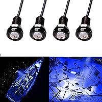 Electrely LED Boot Lights, Marine Waterdichte Led Interieur Lights Lamp voor Boot Navigatie Lichten Decoratie Licht, 12V…