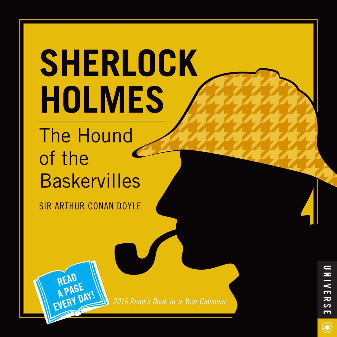 sherlock holmes a book in a year day to day calendar  sherlock holmes 2016 a book in a year day to day calendar the hound of the baskervilles arthur conan doyle 0676728029588 amazon com books