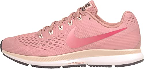 Nike Women's Air Zoom Pegasus 34 Running Shoe (9.5, Rust Pink Tropical Pink)