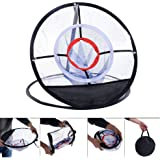 "CISNO Portable 20"" Golf Training Chipping Net Hitting Aid Practice In/Outdoor Bag"