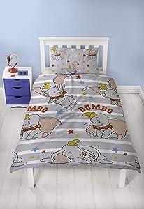 Dumbo Stars Single Duvet Cover and Pillowcase Set