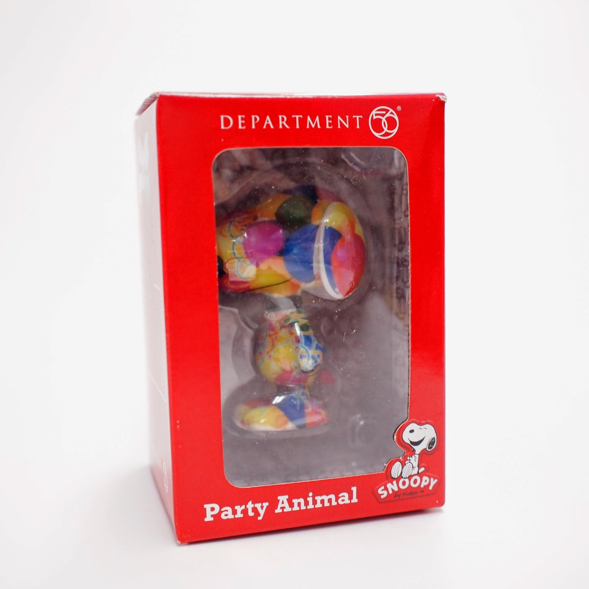 Department 56 Peanuts Party Animal Figurine, 3 inch