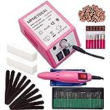 Electric Nail Drill Mpnetdeal Nail Drill Machine Nail File e File Drill Set Kit for Acrylic Nails Gel Nail Glazing Nail…