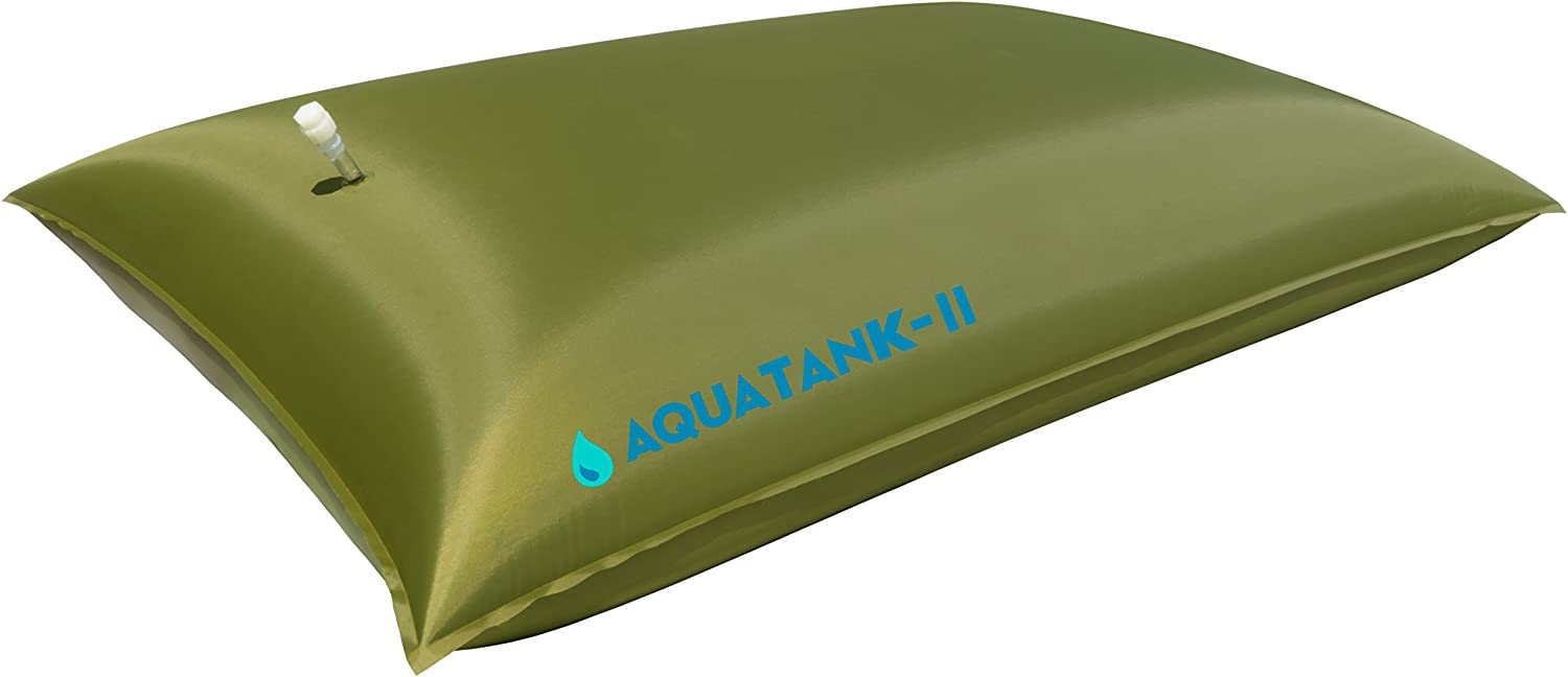 Water Storage Tank - Bladder - Bag - AQUATANK2 Stores Water For Your Emergency Water Supply - It Is a Light-Weight and Portable Water Container, Food-Grade Material, no BPAs (300 Gallon)
