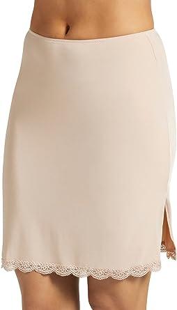 693598df291a Jockey Women's Tops No Panty Line Promise Tactel Lace Half Slip - Beige -