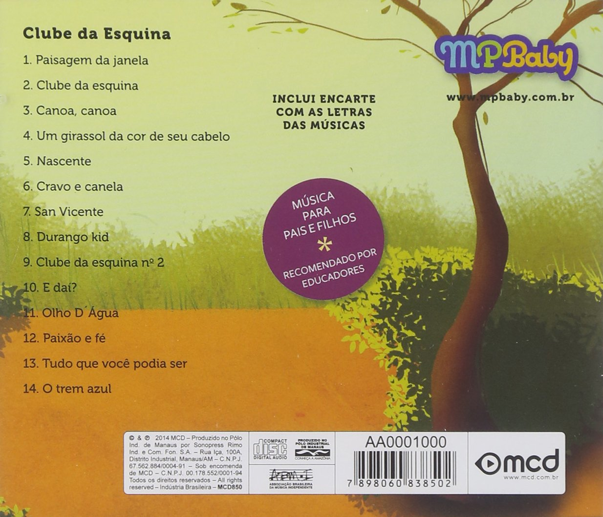 Bia&Nino (Mpbaby) - Mpbaby: Clube Da Esquina - Amazon com Music