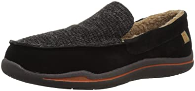 7f13043bf9a Amazon.com | Acorn Men's Ellsworth Suede Moc Slipper | Loafers ...