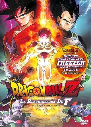 Dragon Ball Z La Resurreccion De Freezer En Español Latino Region 1 Y 4 Movies Tv
