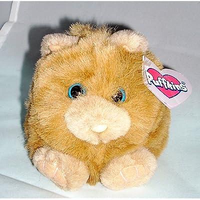 Puffkins Cinnamon Kitty Plush: Toys & Games