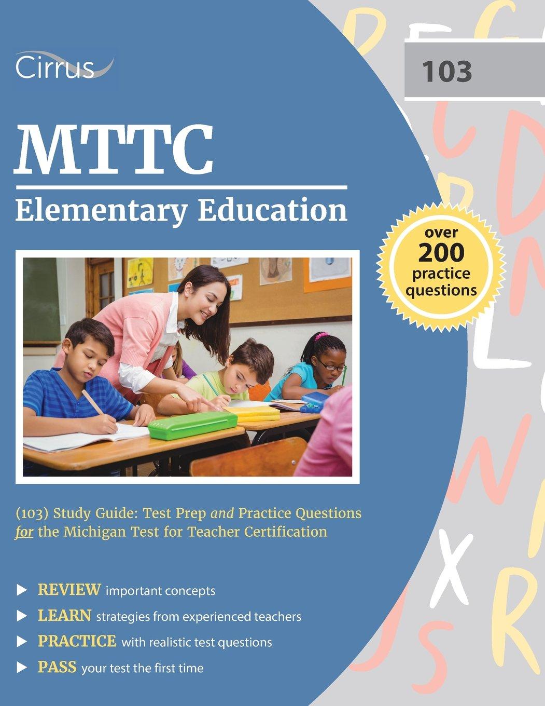 MTTC Elementary Education Study Guide product image
