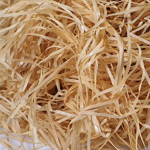 Red VERYFINE Fine Cut Gift Basket Shred Paper Grass Filler Bedding