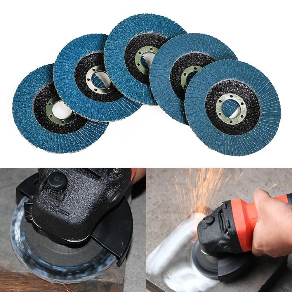 20 Pack Popamazing 4.5 Premium Flap Disc Grinding Wheel 40 60 80 120 Grit