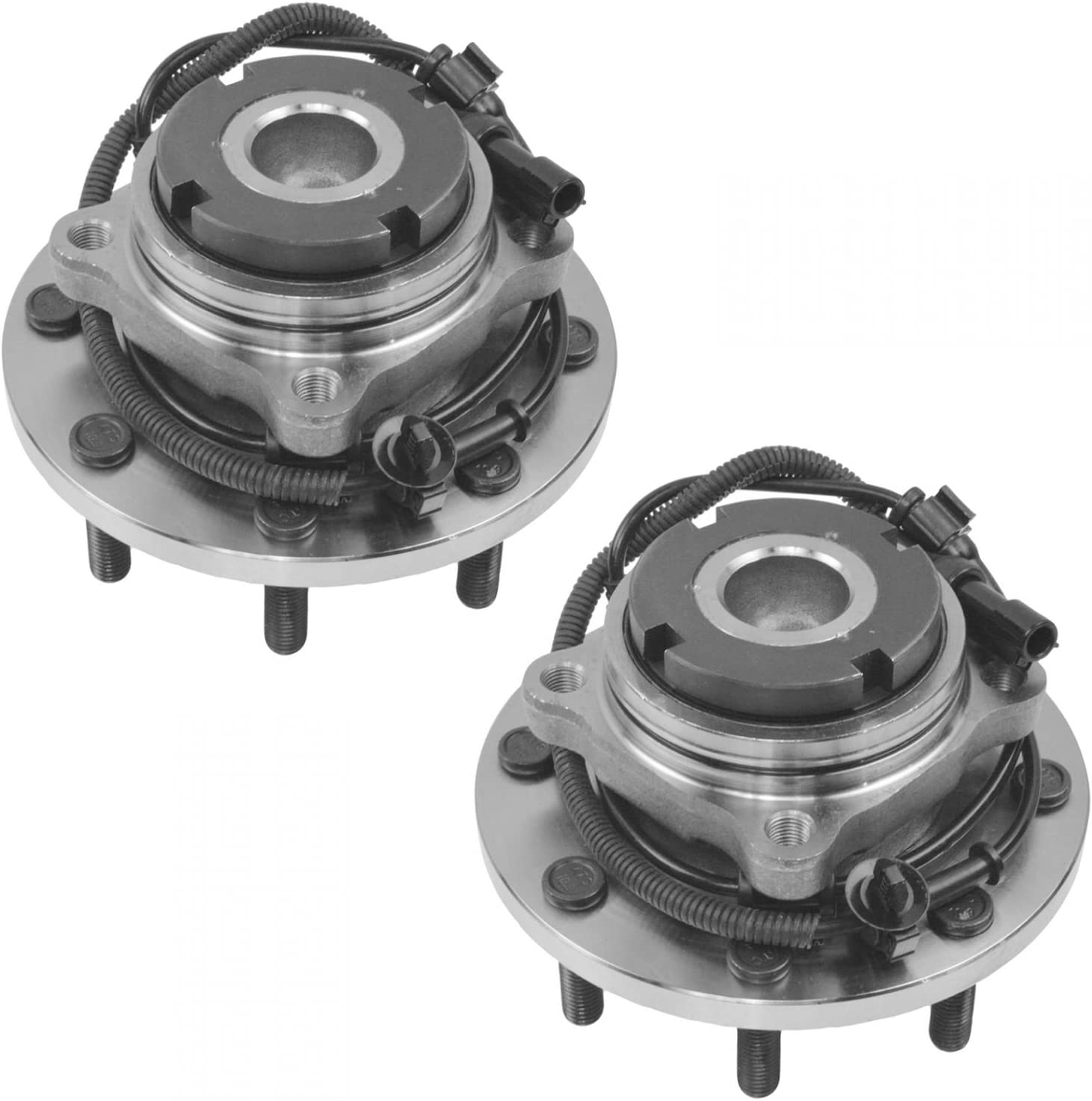 Wheel Bearing /& Hub Assembly Front Pair for 99-04 Ford Super Duty 2WD