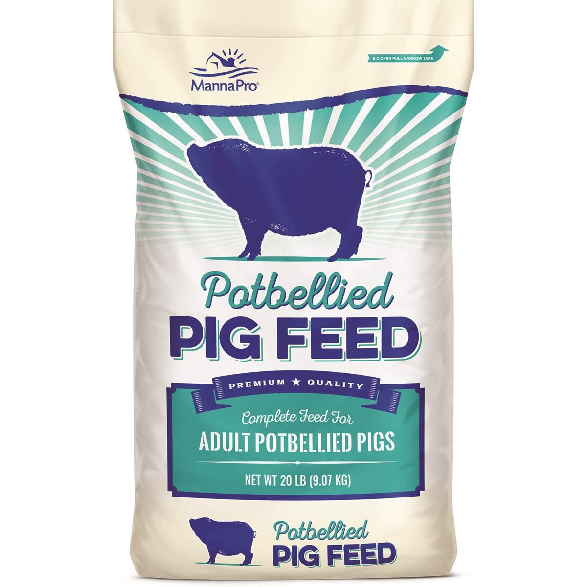 Manna Pro Potbellied Pig Food, 20 Lb by Manna Pro