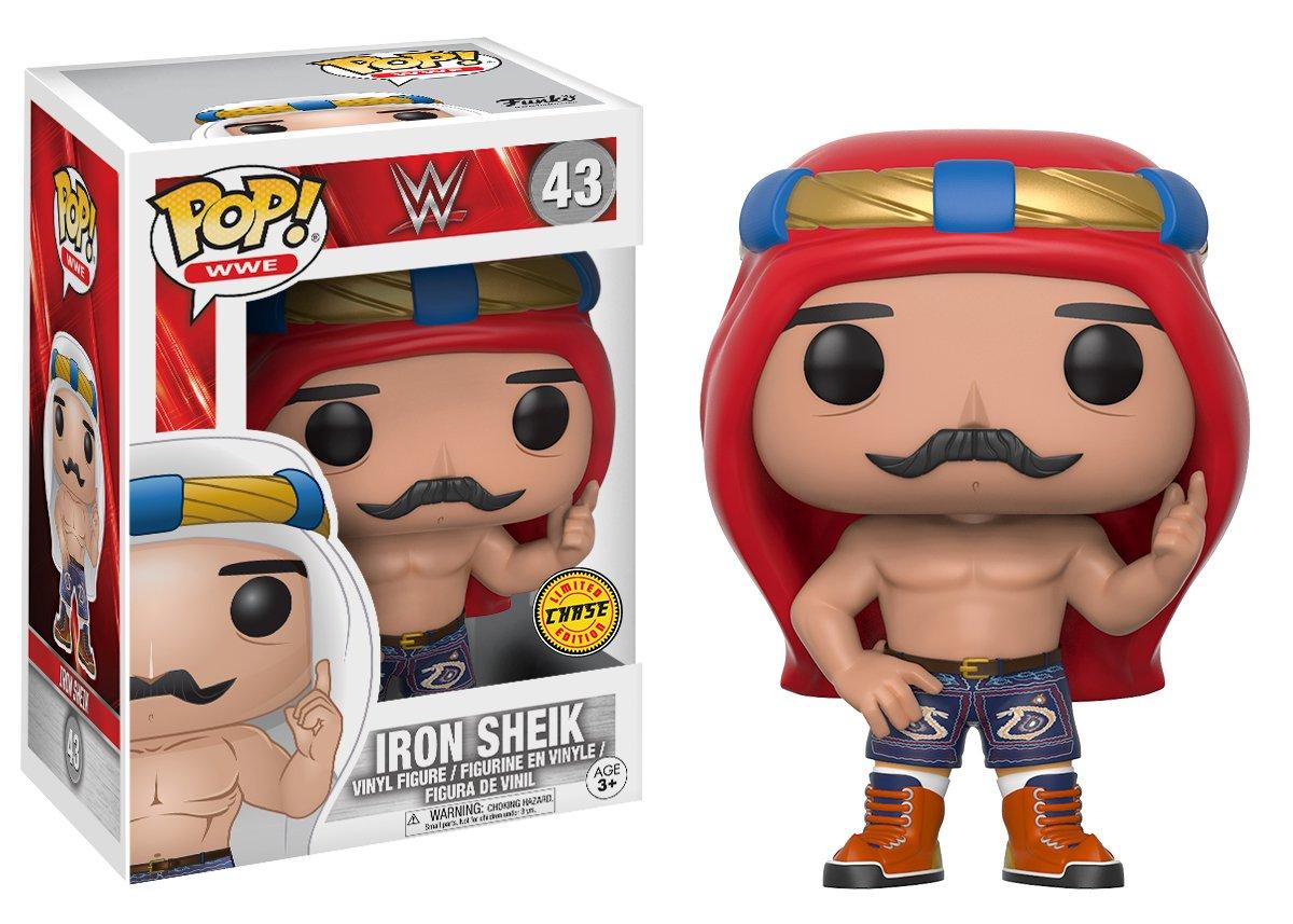 Funko Pop WWE-Iron Sheik Old School styles may vary