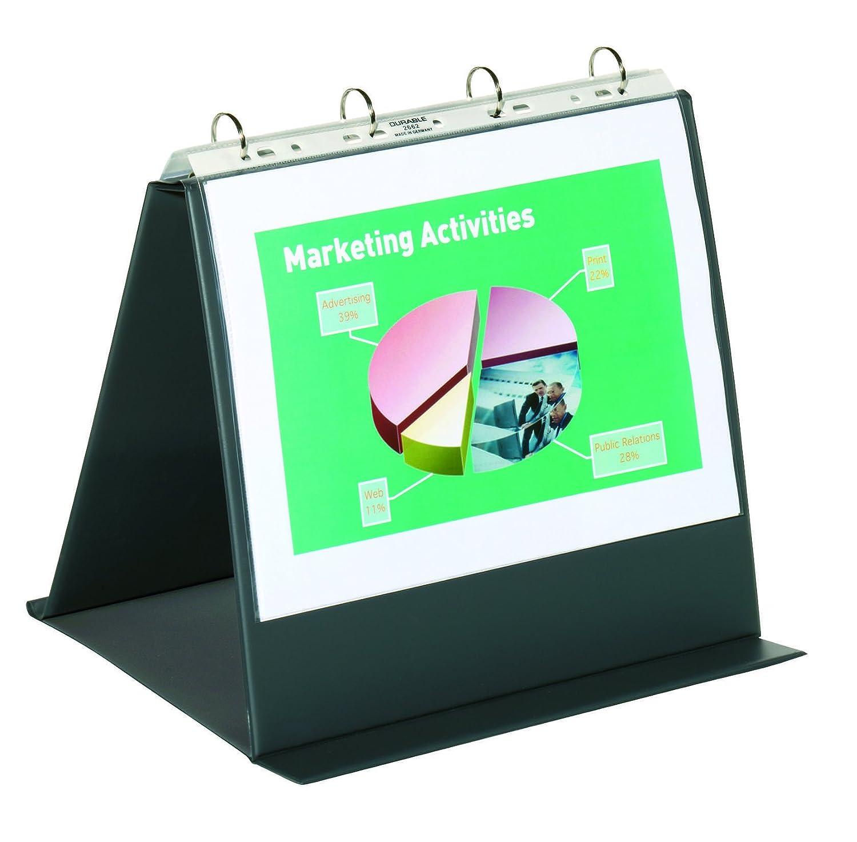 A4 Size Durable 856739 Landscape Durastar Table Top Presenter