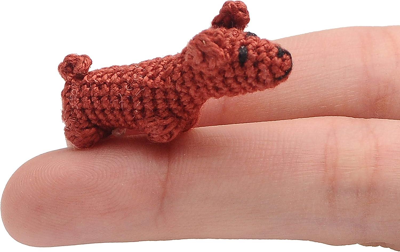 Crochet Cute Amigurumi Dachshund Puppy Dog DIY Video Tutorial ... | 947x1500