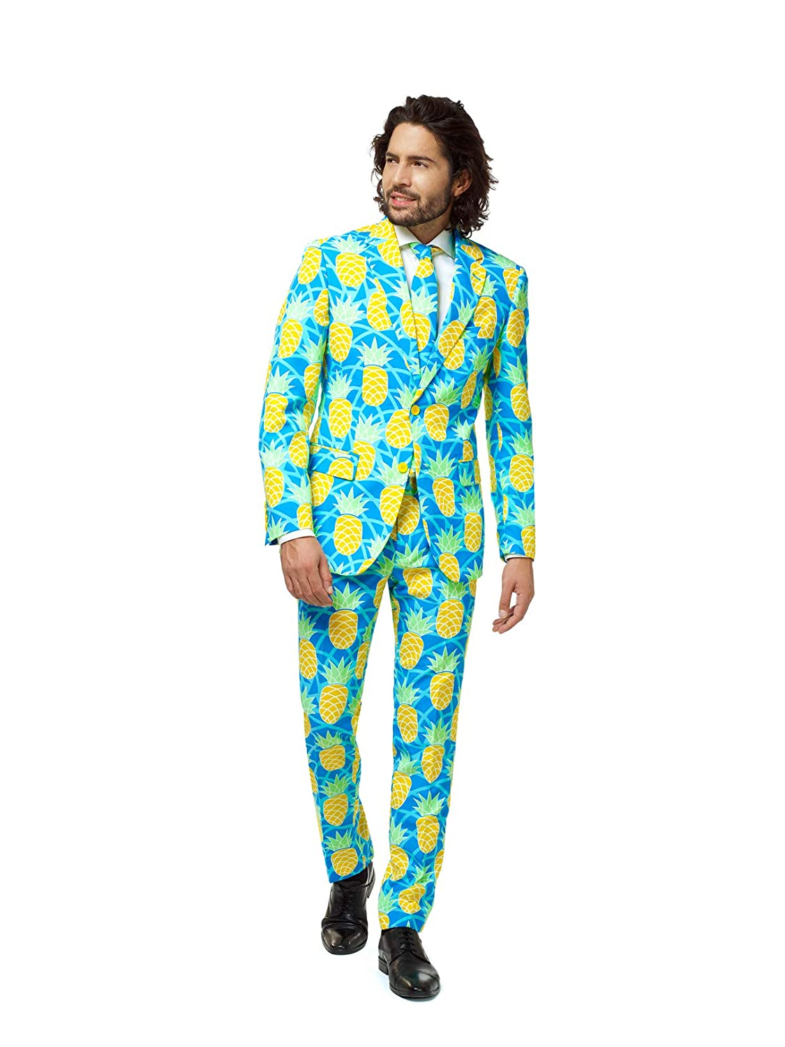 Opposuits Tropical Suits – Colorful Fancy Outfits for Men Come with Pants, Jacket and Tie