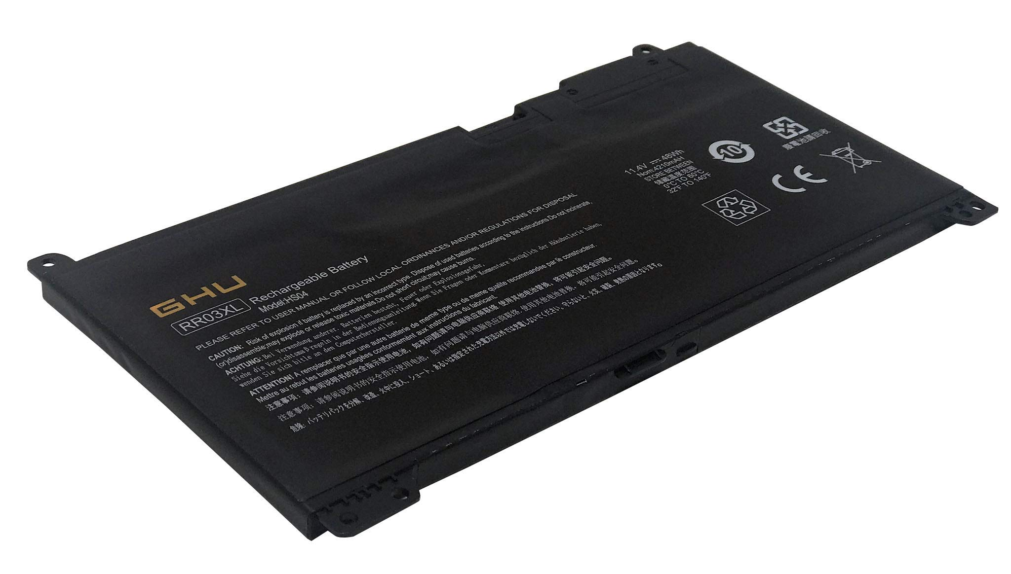 Bateria 48Wh RR03XL HSTNN-Q02C HP ProBook 430 440 450 455 47
