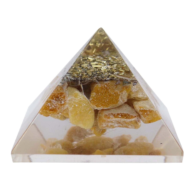 HARMONIZE Aventurine Orgone Pyramid Energy Generator Reiki Healing Crystal