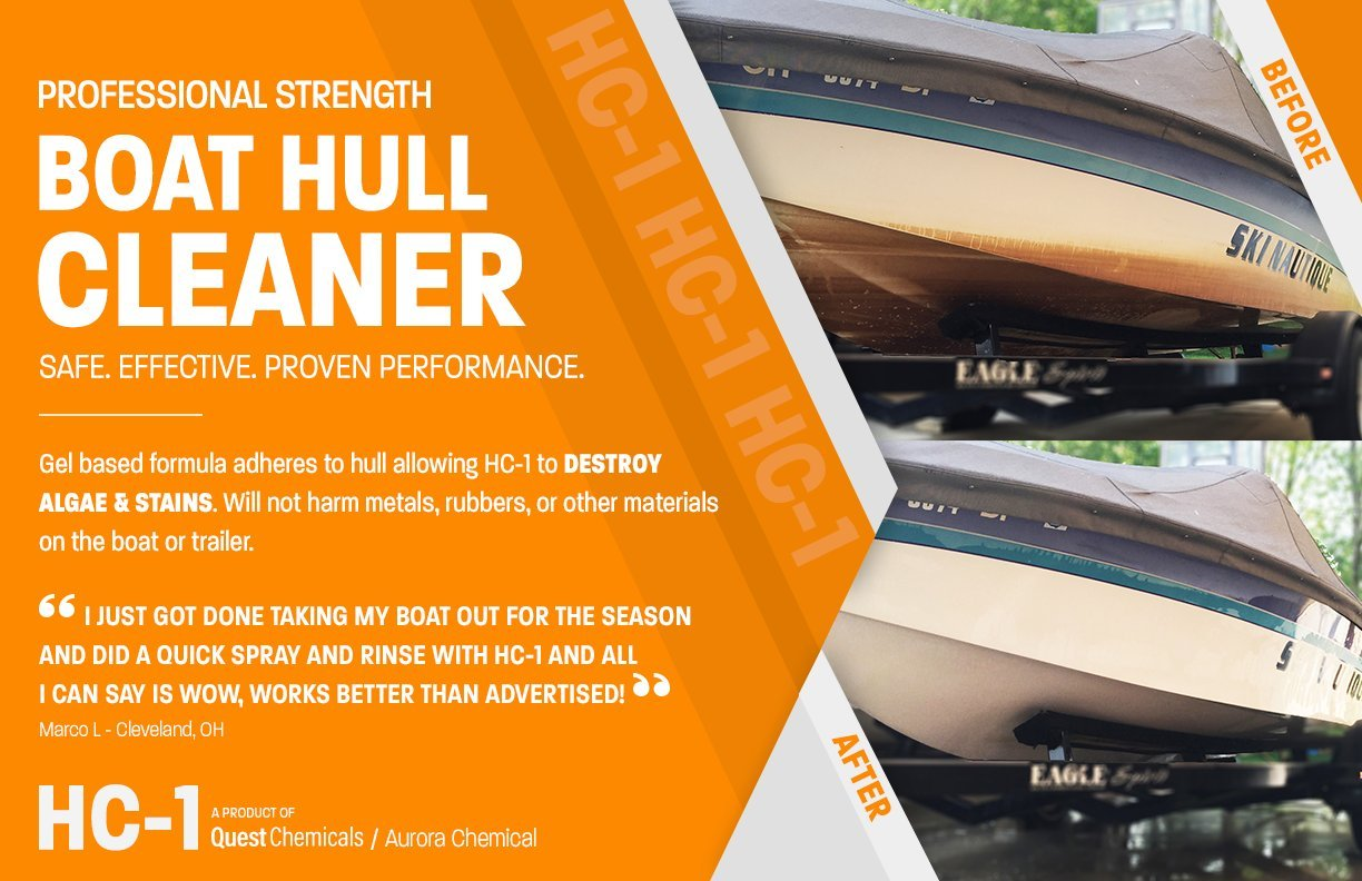 Quest Chemicals ⚓ HC-1 Professional Strength Boat Hull