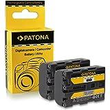 2x Batterie NP-FM55H | FM50 | QM51 pour Sony DCR-HC14 | PC101 | PC105 | PC110 | PC115 | PC120E | PC330 | PC6E | PC9E...
