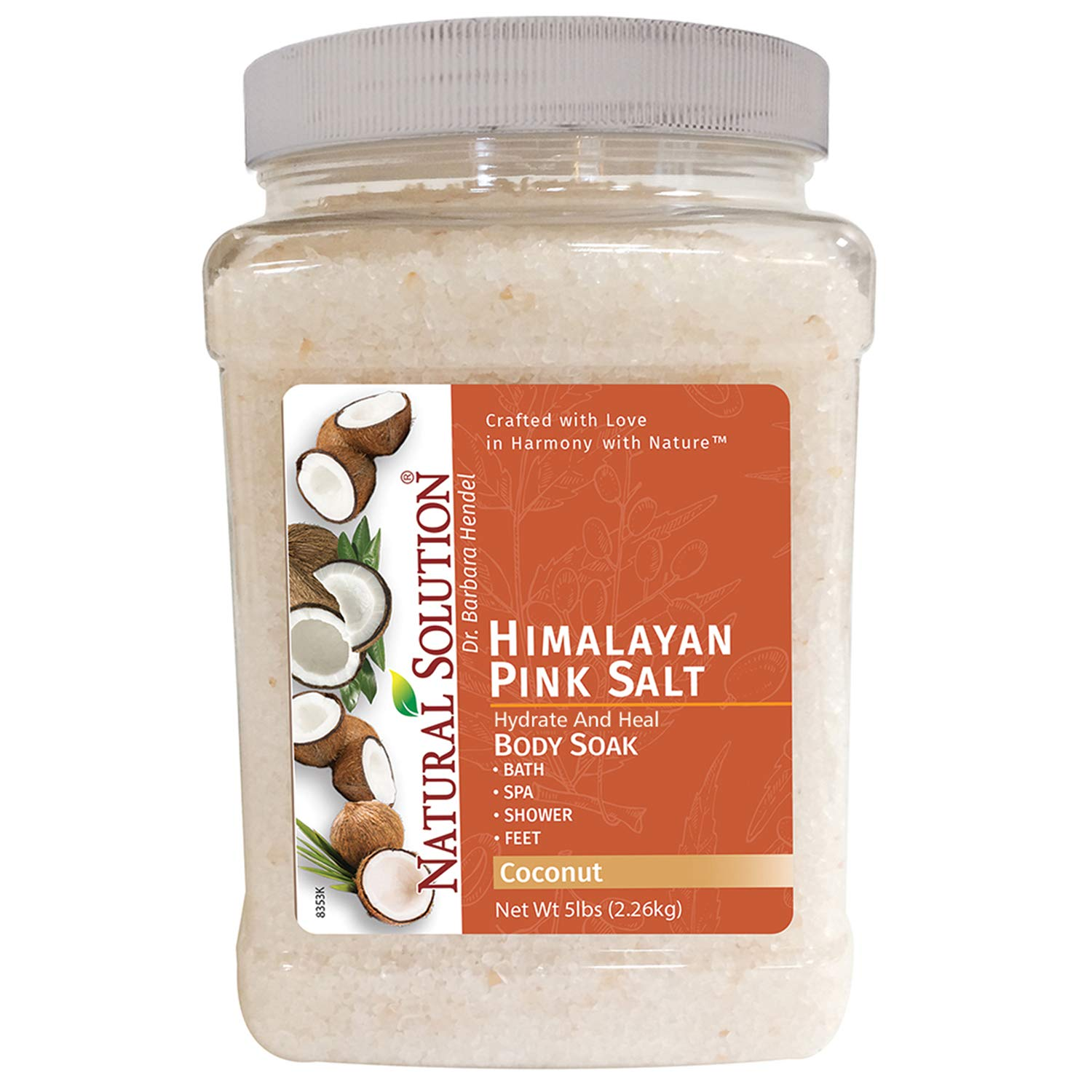 Soothe and Relax Coconut Bath Salt Detox- 5 lbs