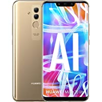 Huawei Mate 20 Lite 64GB Libre de Fabrica 4G LTE SNE-LX3, Version Global Desbloqueado Dorado/Oro