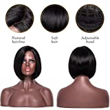 Short Bob Synthetic Lace Front Wigs for Women L