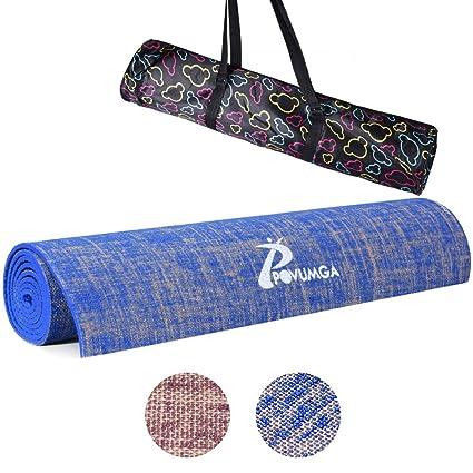 Esterilla de ejercicio para yoga, ecológica, con bolsa de ...