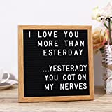 HOMEMAXS Changeable Letter Board Message Board