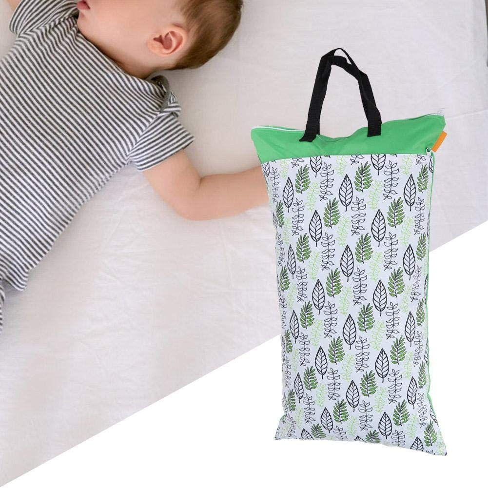 SMT002-EF145 Gran capacidad bolso de pa/ñales lavable y reutilizable bolso de pa/ñales de beb/é para Organizador para pa/ñales de viajes al aire libre