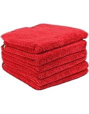 Chemical Guys (MIC_997_3) 60.96 cm x 40.64 cm Fluffer Miracle Supra toalla de microfibra, (Paquete de 3), Rojo, Pacquete 6