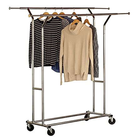 bronze and cloth better ip hanging gardens homes rack double garment
