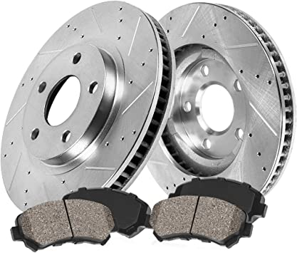See Desc. 2007 2008 Fit Chrysler 300 Rotors Metallic Pads F+R OE Replacement