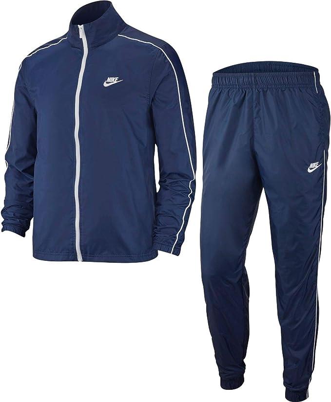 Nike Herren M NSW CE TRK Suit WVN Basic Tracksuit, Midnight