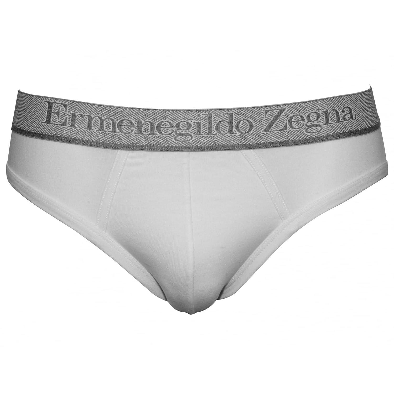 a2eca75b Ermenegildo Zegna Men's 2-Pack Stretch Cotton Midi Briefs, White
