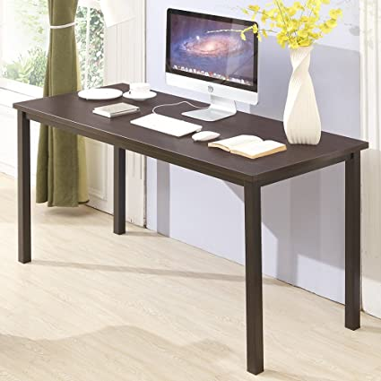 CMO 47u0026quot; Large Size Modern Computer Desk Long Office Desk Writing Desk,  Workstation Table