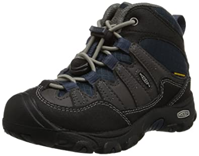 f5c3f84d84 Amazon.com | KEEN Pagosa Mid WP Hiking Shoe (Toddler/Little Kid),  Magnet/Midnight Navy, 9 M US Toddler | Hiking Boots