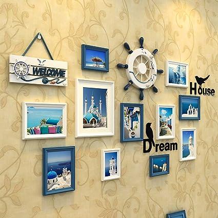 Buy WollWoll European Mediterranean Theme Wall Decoration Photo ...