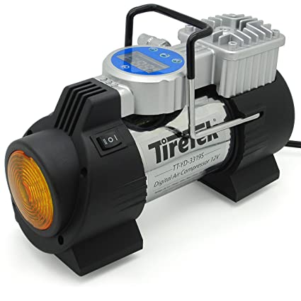 c47190d90877 Amazon.com  TireTek Power-Pro Portable Tire Inflator Pump - 12V DC ...