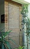 "Bamboedeurgordijn, bamboegordijn, deurgordijn""verandadeur"" ca. 90 x 200 cm."