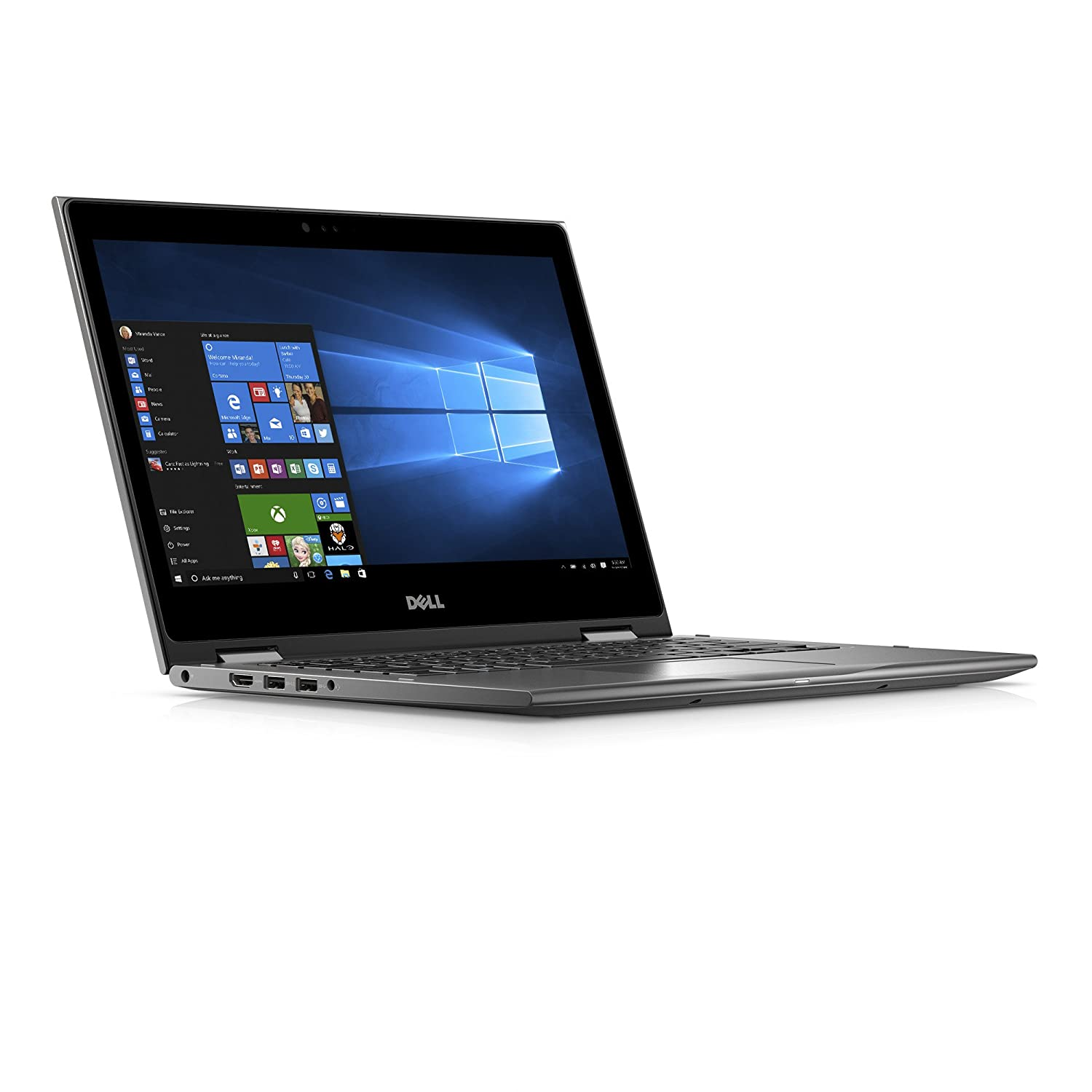 Amazon Com Dell I5378 3031gry Pus Inspiron 13 3 2 In 1 Laptop